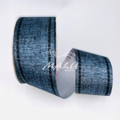 Fita Gorgurão Estampada Jeans 859 N9 10mts