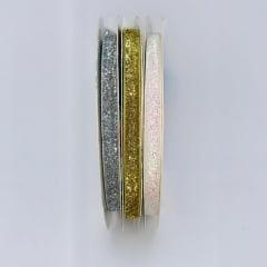 Fita Lurex Metalizada 1,0cm