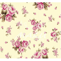 Lençol Elegance Floral 2,45m Larg. 150fios ELE6990