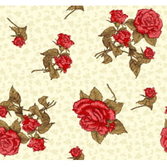 Lençol Elegance Floral 2,50m Larg. 150fios ELE6991