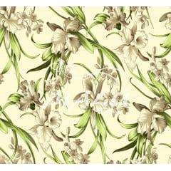 Lençol Elegance Floral 2,45m Larg. 150fios ELE6994