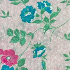 Lençol Riolen Floral Delicado  2,20m Largura