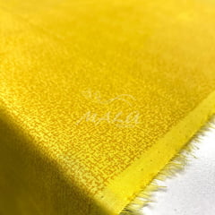 Tricoline Textura Esponjada Amarelo