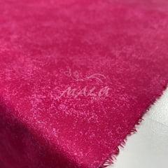 Tricoline Textura Esponjada Rosa Pink