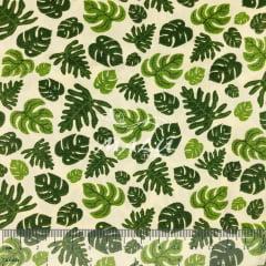 Tricoline Folhas Costela de Adão TRICO9112