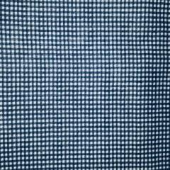 Tricoline Mista 50% Alg. Xadrez Azul Marinho TEX7838