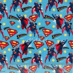 Tricoline Mista Super Homem SET6972