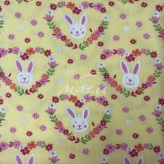 Tricoline Coelho Floral TRICO9975