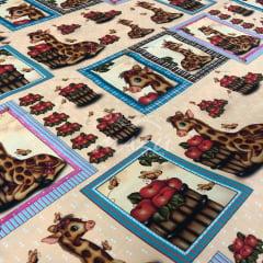 Tricoline Digital Girafas