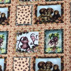 Tricoline Digital Macacos TRICO9962