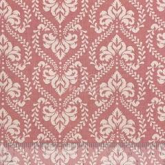 Tricoline Arabesco Ornamental Rosê TRICO8473