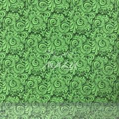 Tricoline Arabesco Verde Escuro TRICO9683