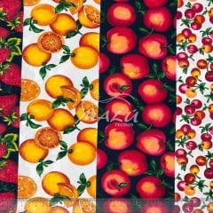 Tricoline Barrado de Frutas TRICO9540