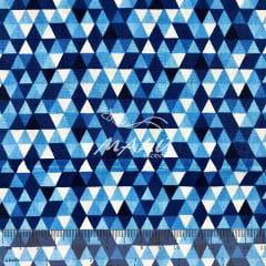 Tricoline Chevron Azul TRICO9129