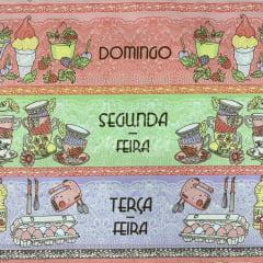 Tricoline Semaninha Café Breakfast 60cm TRICO8762