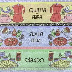 Tricoline Semaninha Café Breakfast 60cm