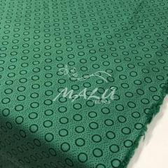 Tricoline Circulos Verde