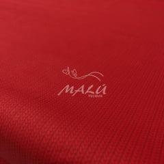 Tricoline Textura Vermelha