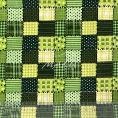 Tricoline Patchwork Verde TRICO9571