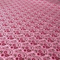 Tricoline Floral Pink