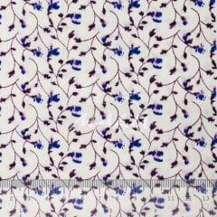 Tricoline Floral em Arabescos Pincelados TRICO9599