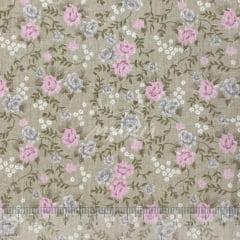 Tricoline Floral Jacobean Bege TRICO8546