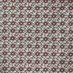 Tricoline Floral Marsala