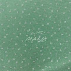 Tricoline Floral Verde Agua TRICO9980