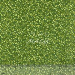 Tricoline Floral Verde Forte TRICO9570