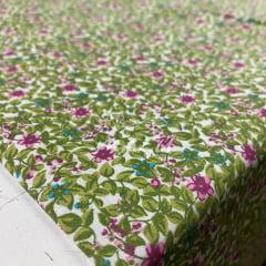 Tricoline Floresta Verde e Violeta