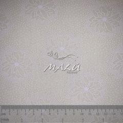 Tricoline Floral Branco TRICO9830