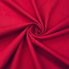 Tricoline Lisa Premium Vermelho Cereja TRICO9834