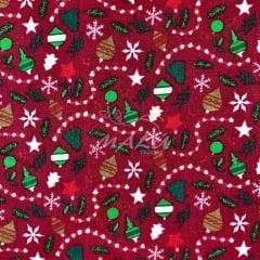 Tricoline Enfeites de Natal TRICO9017