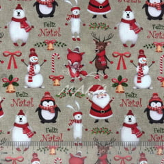 Tricoline Feliz Natal TRICO9633