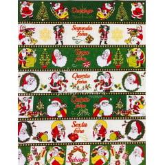 Tricoline Semaninha Papai Noel 60cm TRICO9001