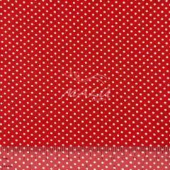 Tricoline Petit Poa Miudo Vermelho TRICO9042
