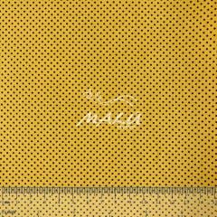 Tricoline Petit Poa Miudo Amarelo