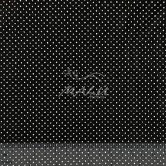 Tricoline Poa Preto com Branco TRICO8888