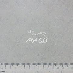 Tricoline Mandala Branco no Branco TRICO9258