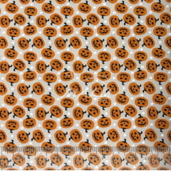 Tricoline Abóboras Halloween TRICO9751