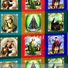Tricoline Religiosa Santos Pequenos 24cm TRICO9494