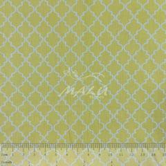 Tricoline Ornamento Amarelo TRICO8853