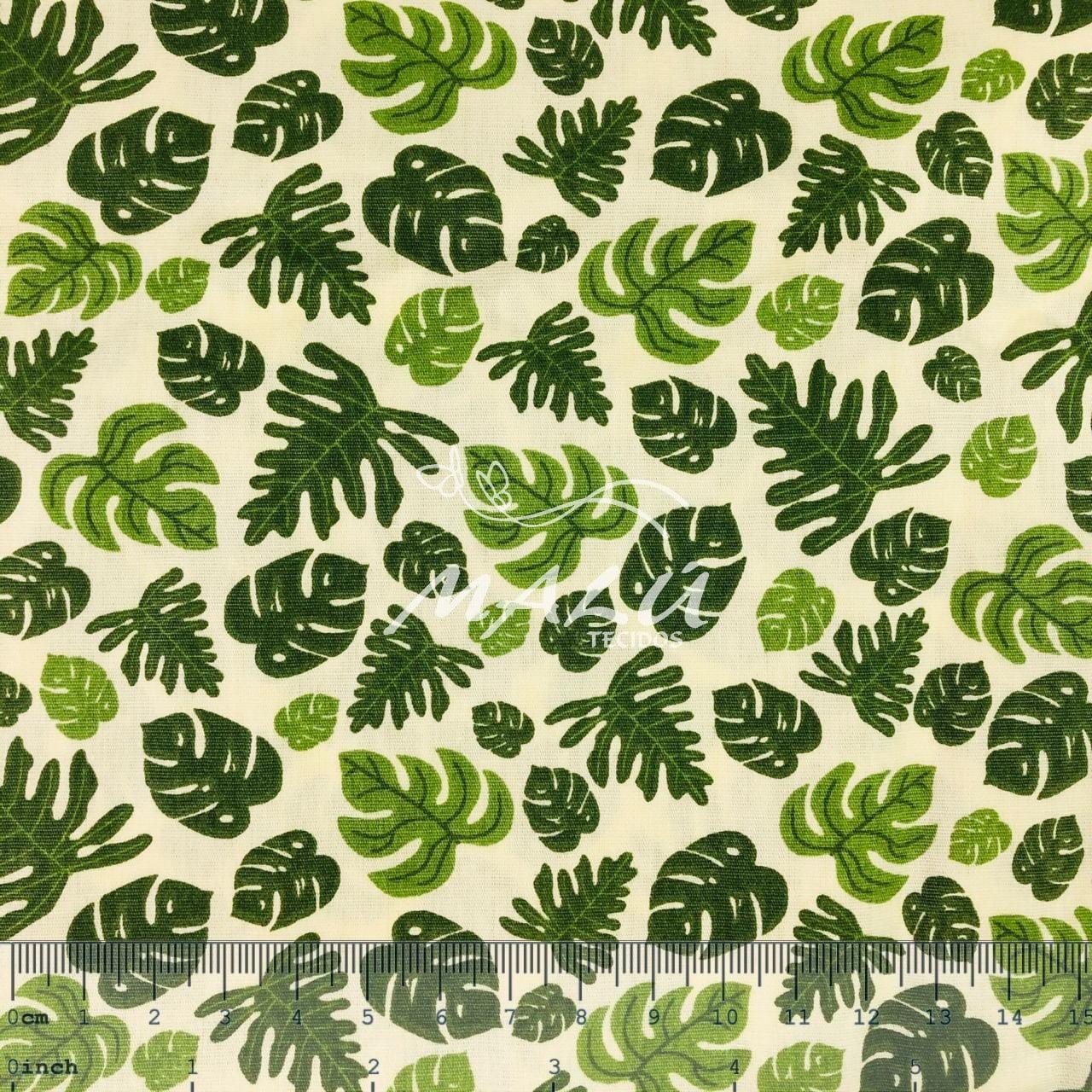 Tricoline Folhas Costela de Adão