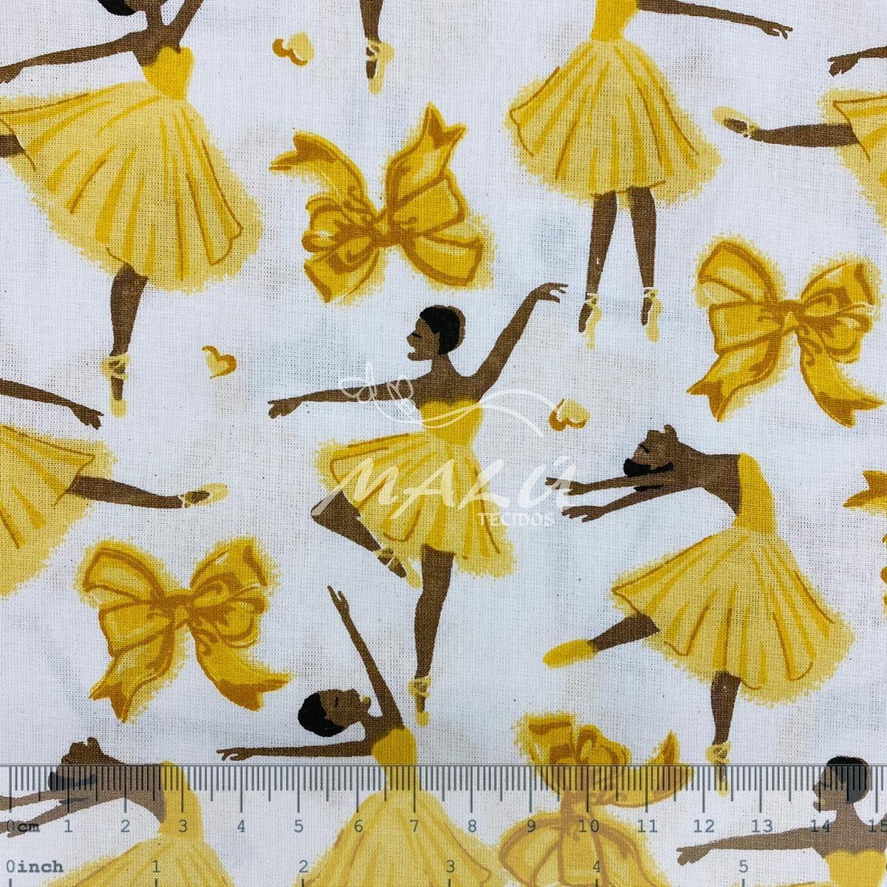 Tricoline Bailarina Amarela