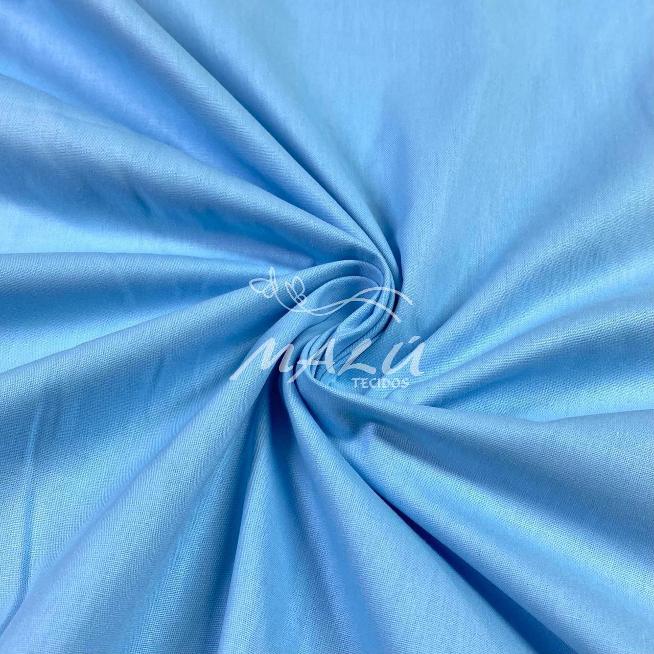 Tricoline Lisa Azul Claro