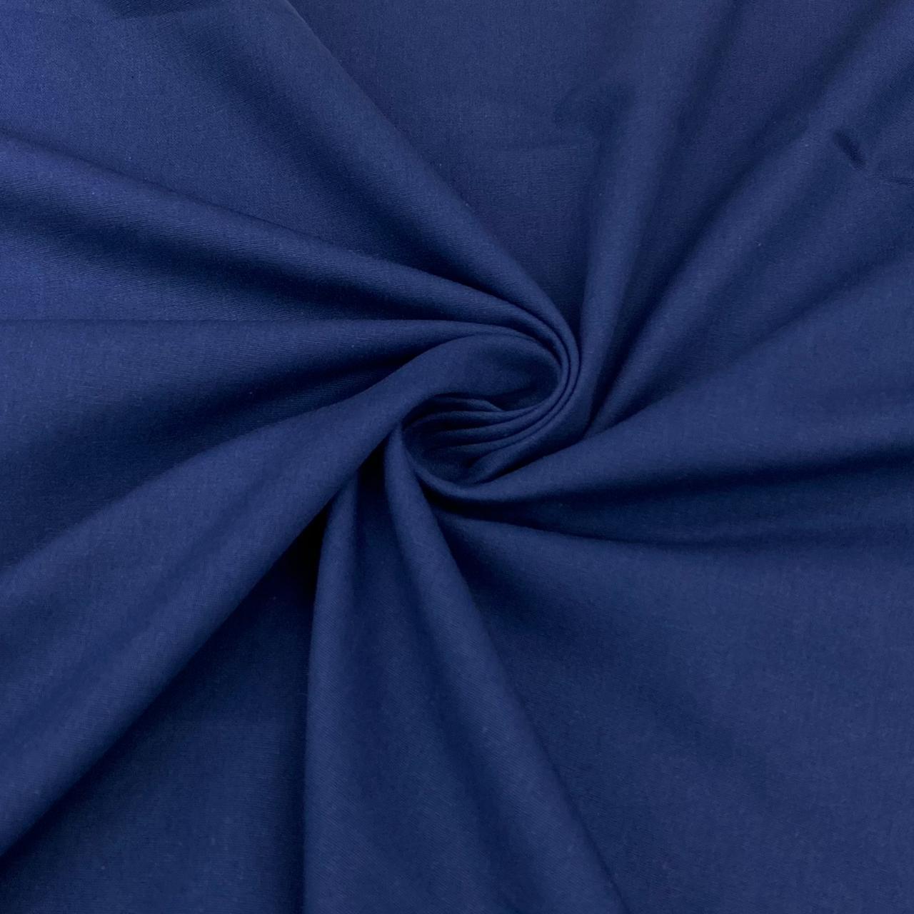 Tricoline Lisa Premium Azul Marinho