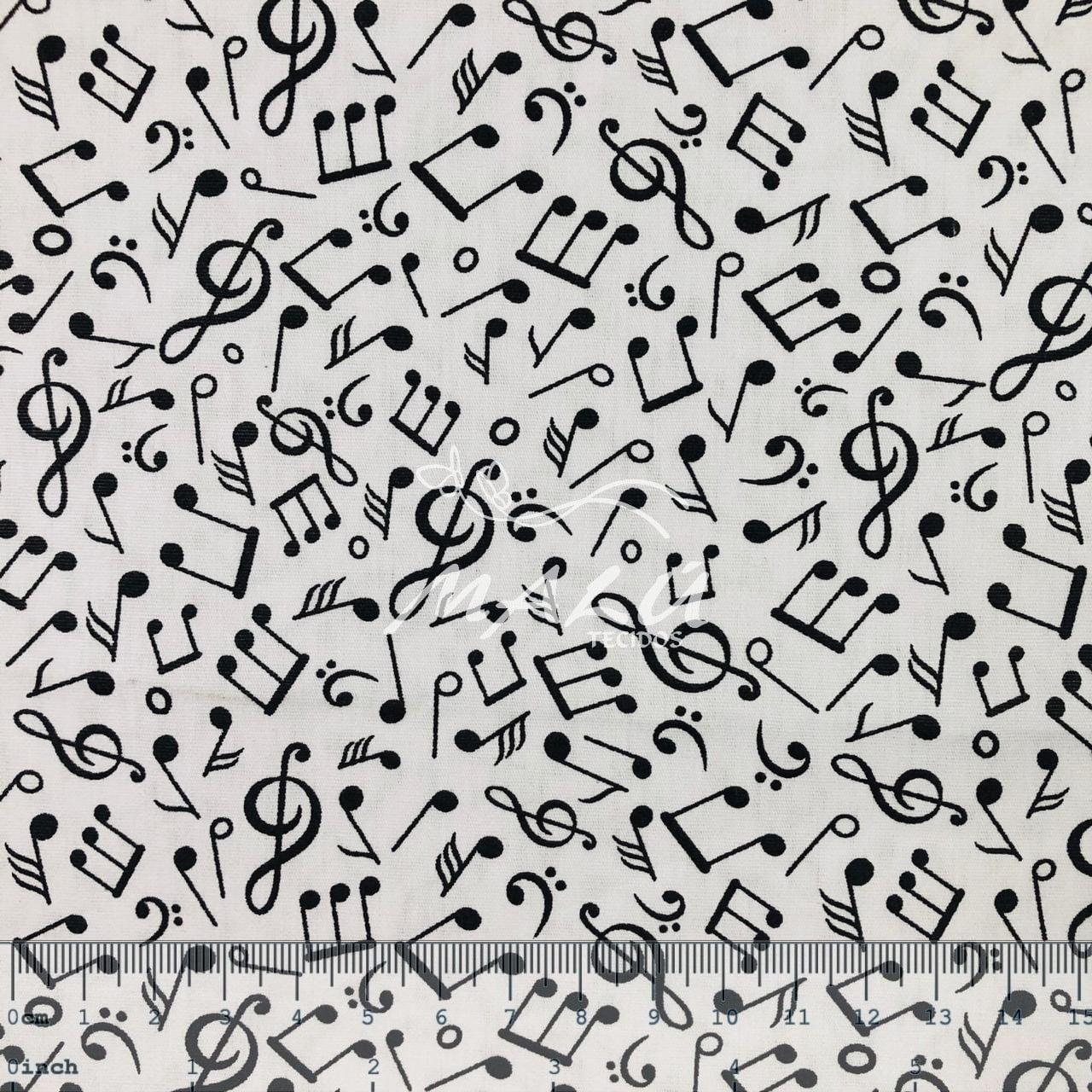 Tricoline Nota Musicais