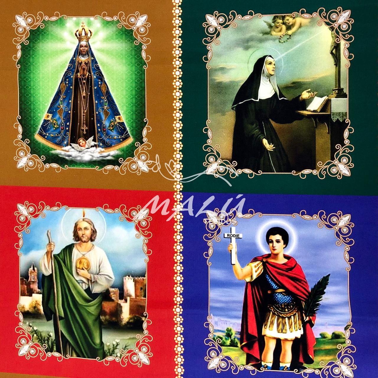 Tricoline Religiosa Santos Grandes 48cm